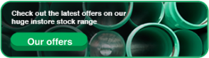 Call for offers on green pipe, ppr pipe and fittings, and all general plumbing supplies